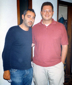 Luca Carboni e Mirco Di Marcello