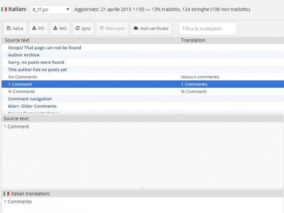 loco translate: tradurre tema wordpress
